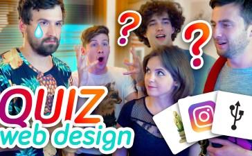 Quiz Web design - Basti UI