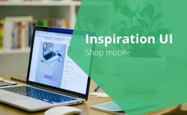 inspiration ui shop mobile - 5 inspiration UI - Shop mobile