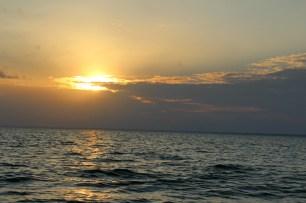 Pôr do Sol na Ponta do Caxambu em Alter do Chão