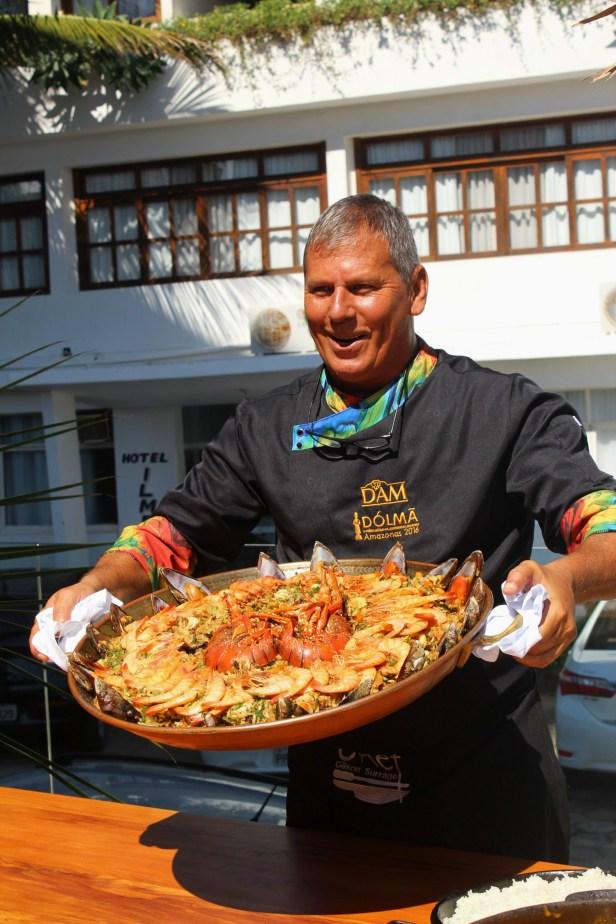 Chef Gilson Surrage Iriri
