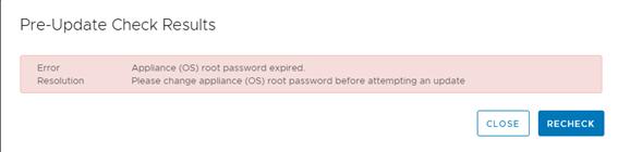 error permission update