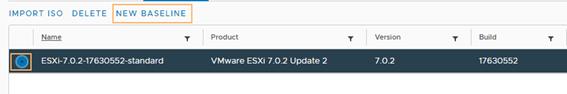update 2 baseline