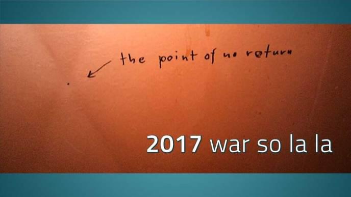 Wandschmiererei: the point of no return, Bild zum Abschlussbericht 2017