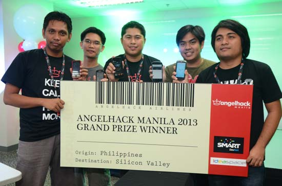 AngelHack Team PageSnapp2