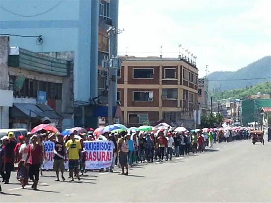 yolanda survivors march copy