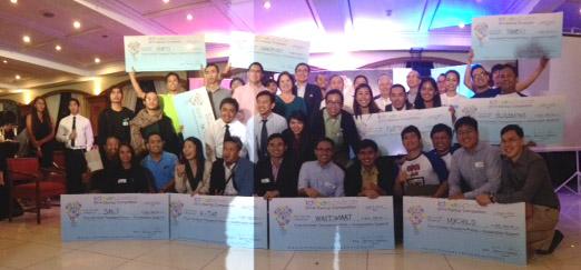 winners of the ideaspace 2014