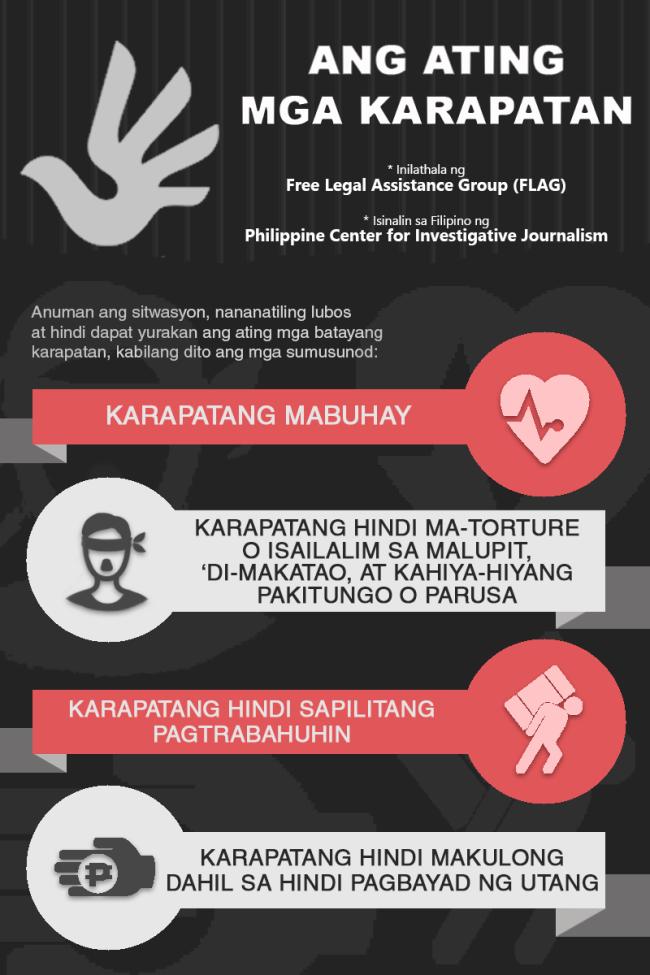 Ang Ating Mga Karapatan, 1, PCIJ, july 2016