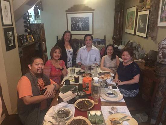 meeting with sec andanar