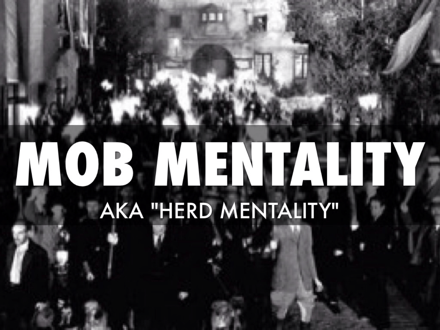 mob-mentality