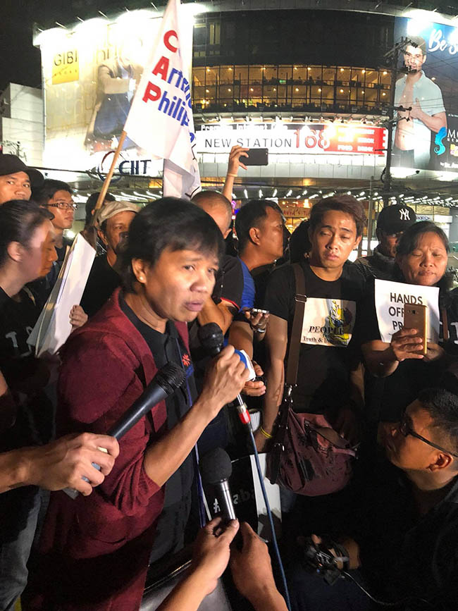 defend press freedom malou mangahas
