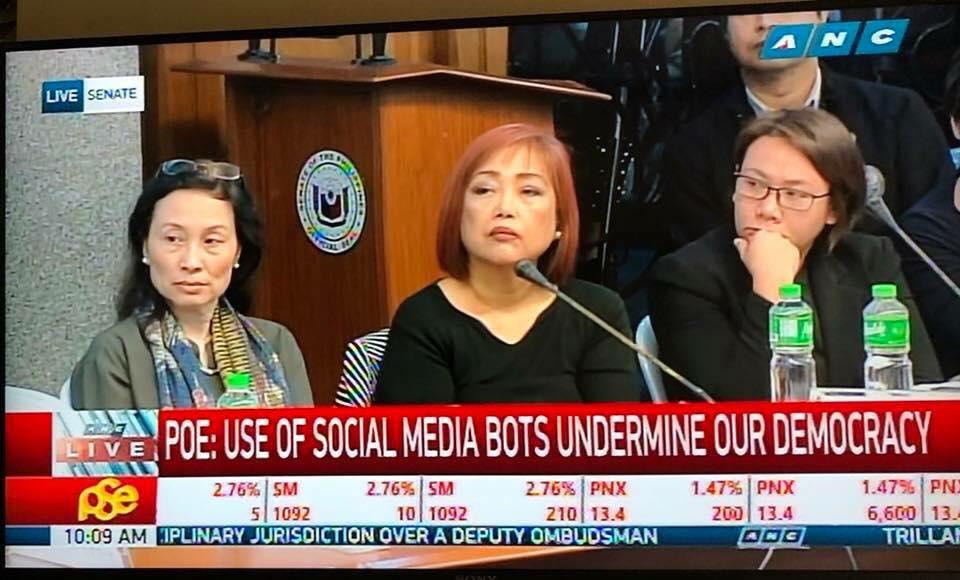 fake news hearing