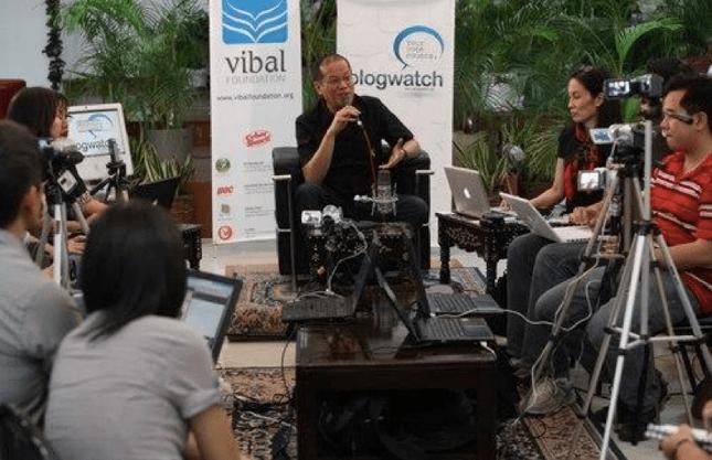 BlogWatch interviews Noynoy Aquino