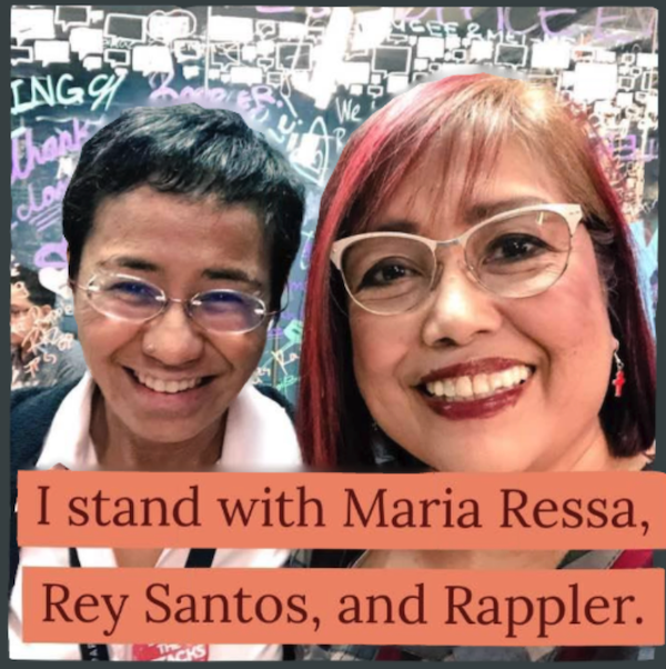 i stand with maria ressa