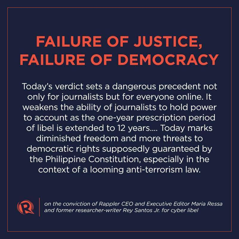 rappler statement