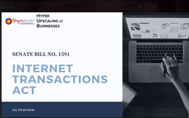 internet transactions act
