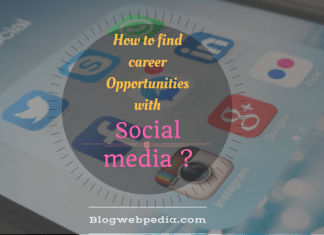 Social media can help you to get hired