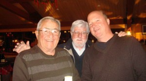 Bud Koehler, Bill Tyree, owners, and Adam.  Photo from Adam's FB page