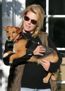 Gramercy Vineyards, Carol & dog