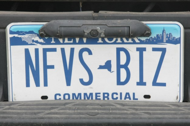 NFVS, license plate