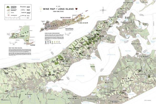 LI Wine Map