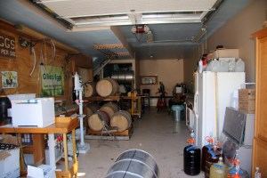 Corwith Vineyards, garage
