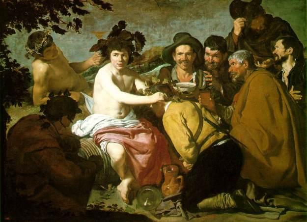 Velazquez, 1629, Los borrachos
