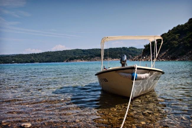 Near Rab island in Croatia