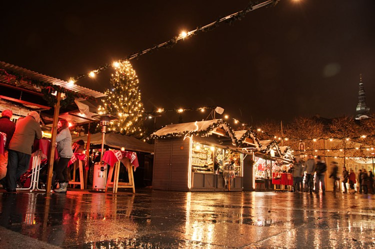 Christmas Market Merchants