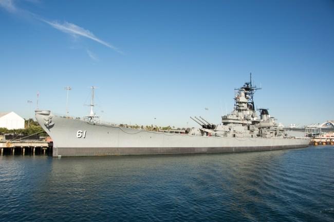 USS Iowa is now a museum
