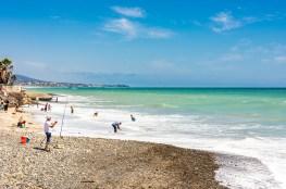 Beach fun at Capistrano