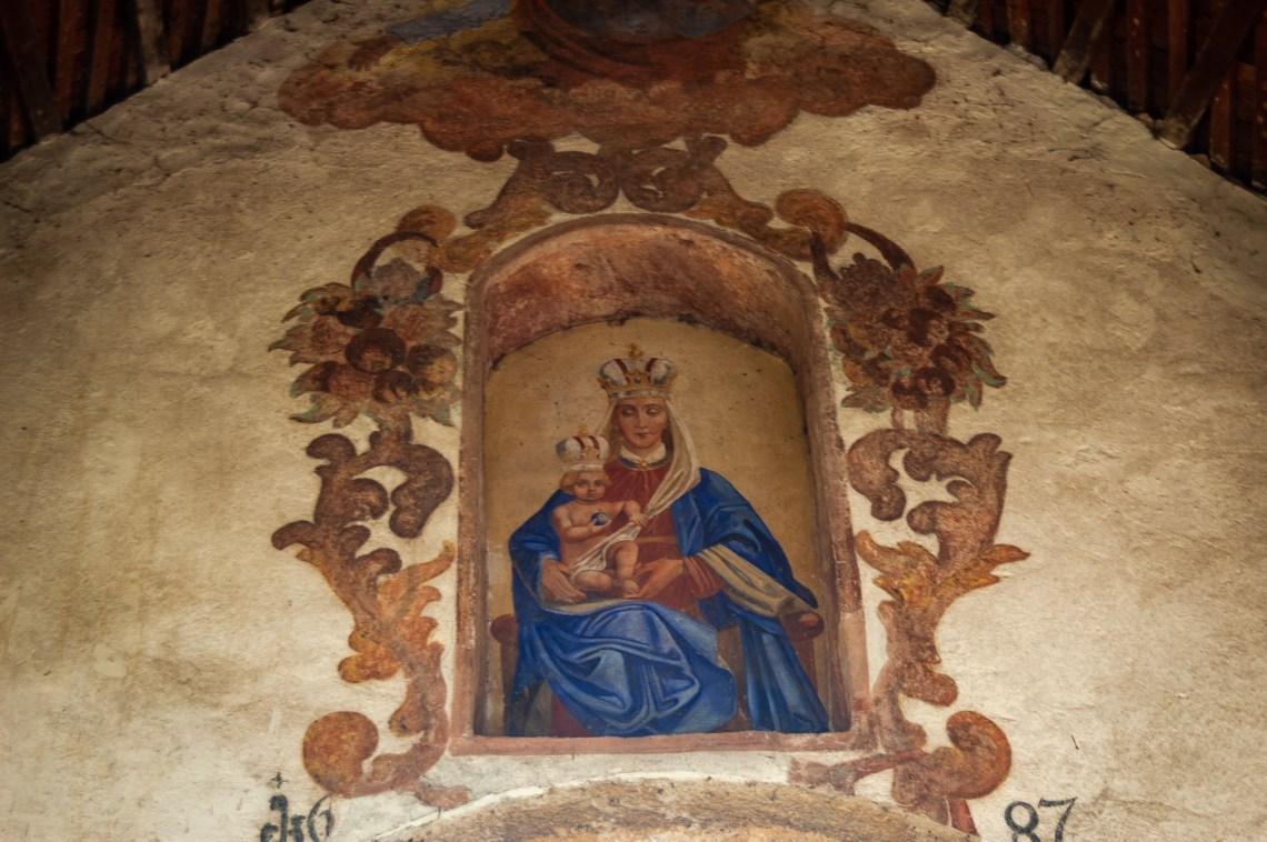 Church painting, Maria Woerth / Austria