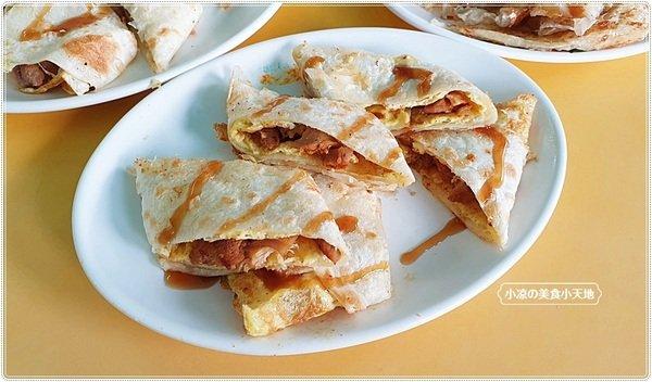 feaafe91 03c4 4bfb ae87 c5be9a1058c2 - 幾乎看不到招牌的人氣中西式早餐,推薦海南燒雞、薑汁燒肉蛋餅,是酥香的唷
