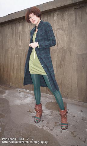 長版格子襯衫穿搭女| - 綠蟲網 - BidWiperShare.com