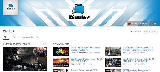 Diablox9-YouTube