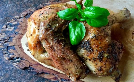 Kurczak pieczony w ziołach