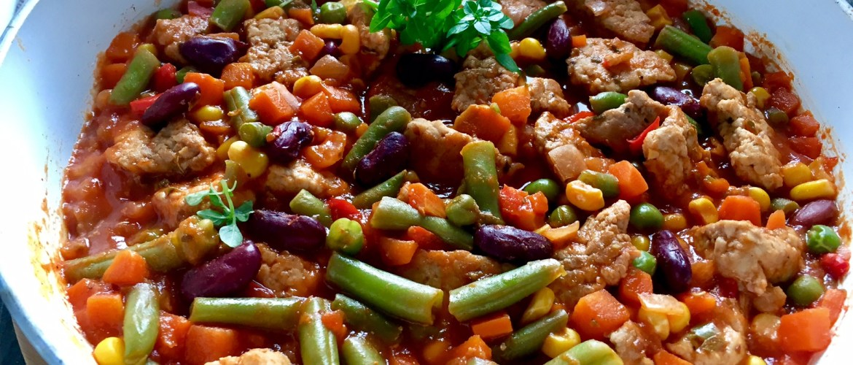Kuchnia meksykańska, schab