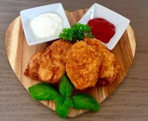 Szybki obiad z kurczaka w panierce