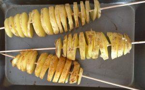 Ziemniaki przygotowane do smażenia