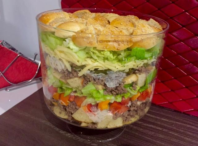 Salatka Big Mac Blog Z Apetytem