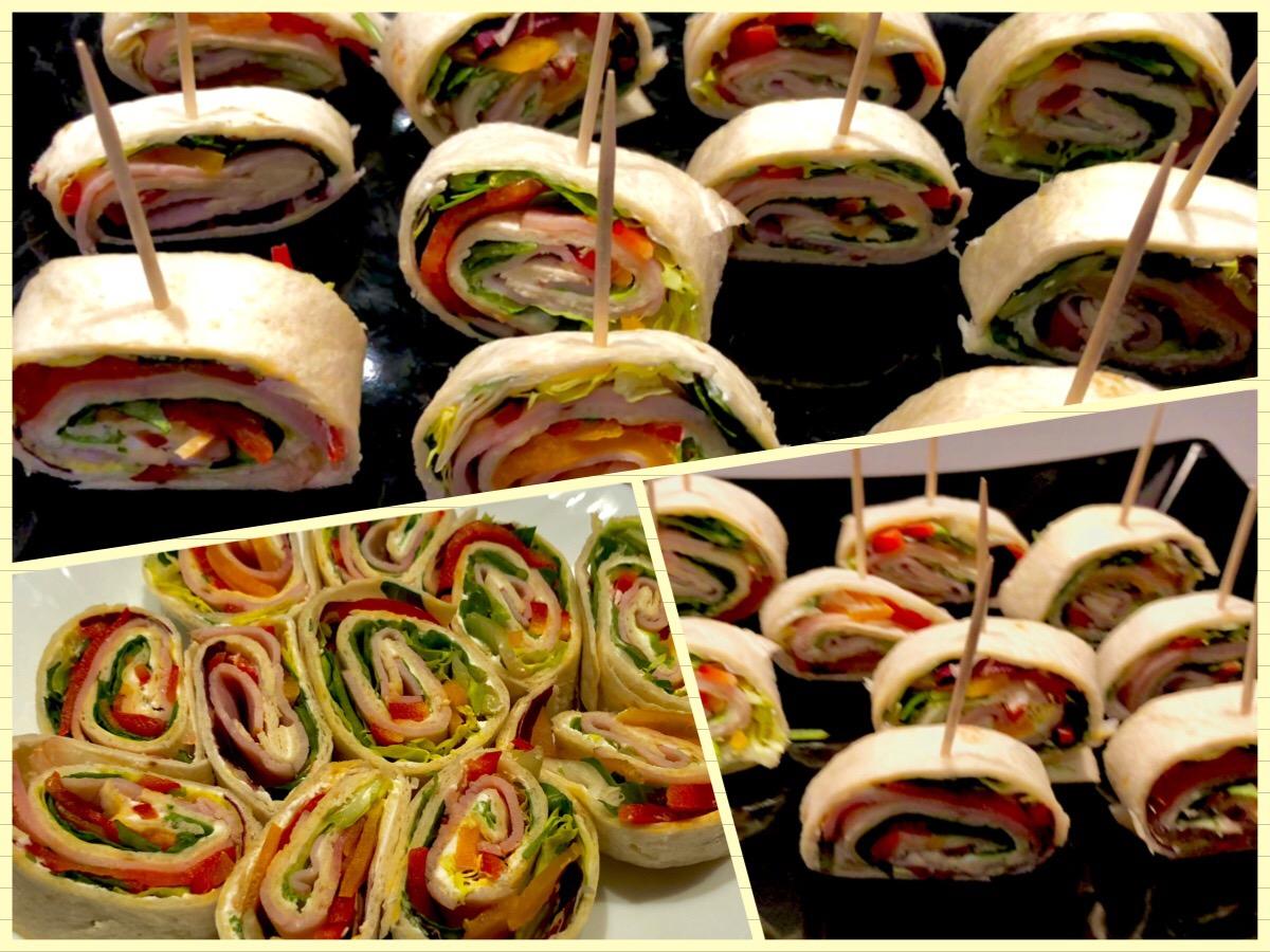 Rollsy - koreczki z tortilli