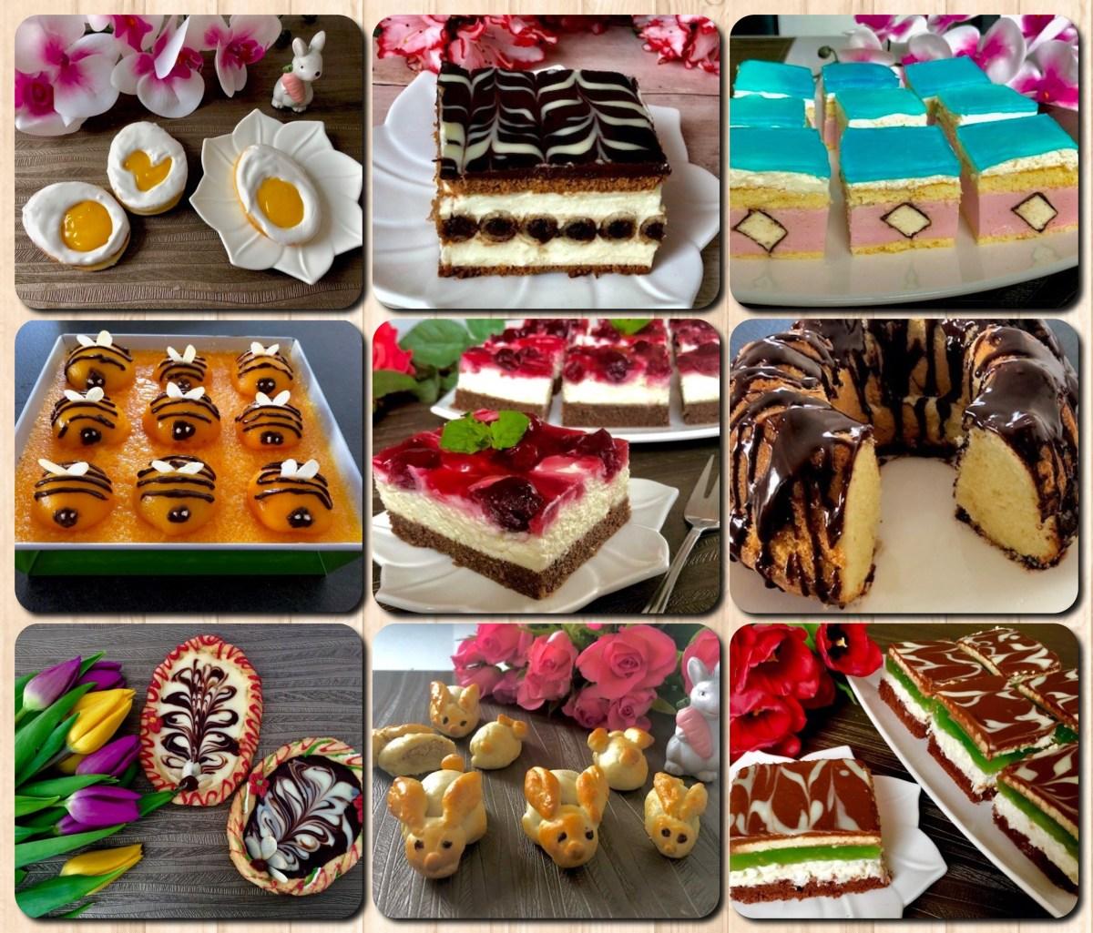 Ciasta i wypieki wielkanocne