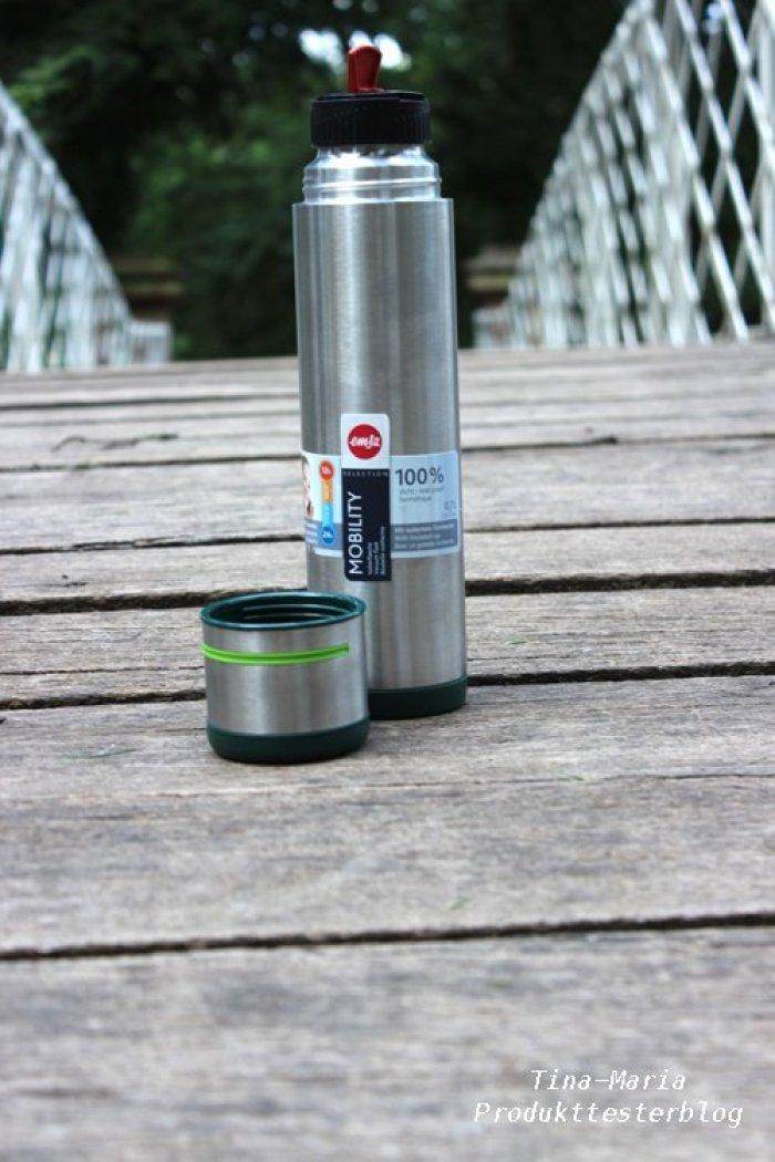 EMSA Mobility Isolierflasche geht mit zum Ausflug