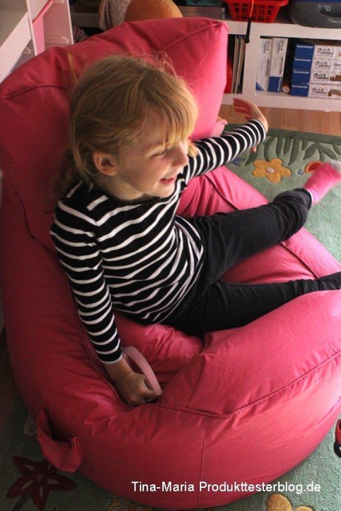 Sitzsack für Leonie zum relaxen von emob4kids