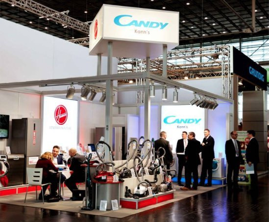 Candy-Hoover Bloggerevent auf der EP-Messe