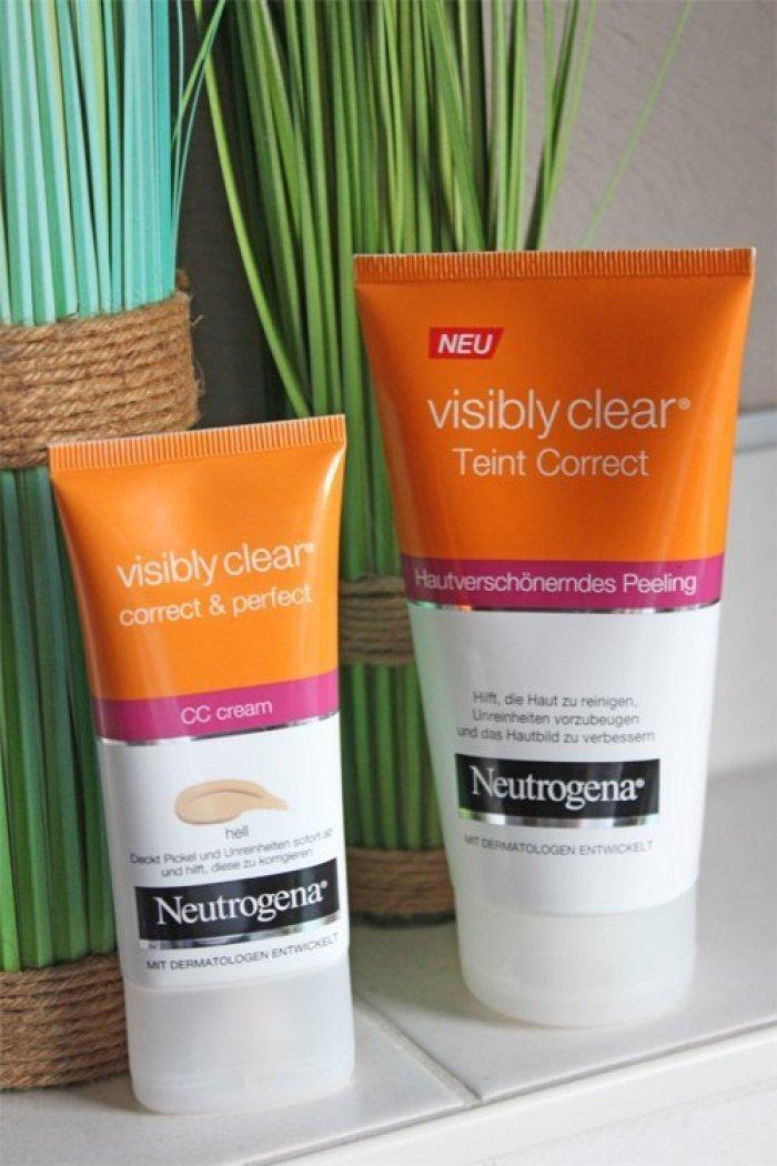 Neutrogena visibly clear - Hautunreinheiten ade?