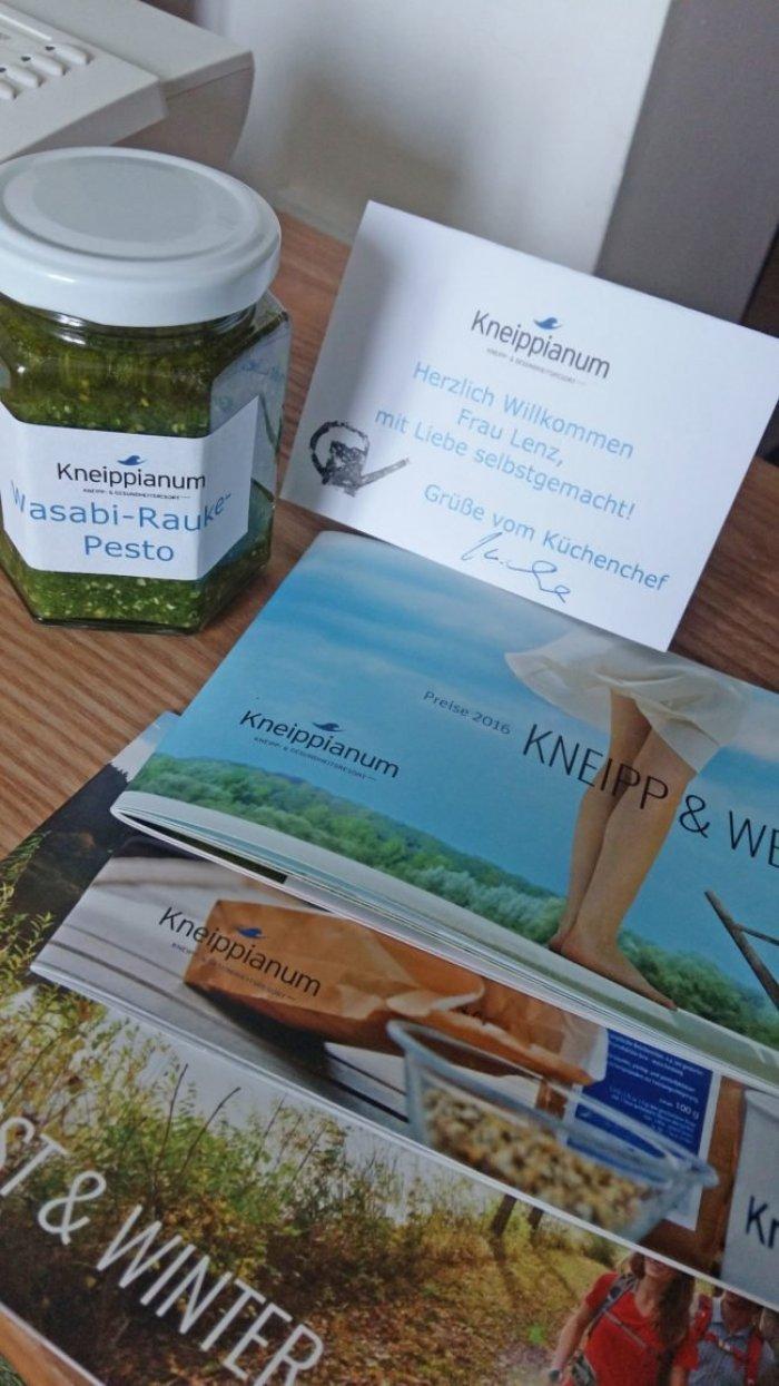 Auf ging es zum Kneipp ViP-Autoren Bloggerevent