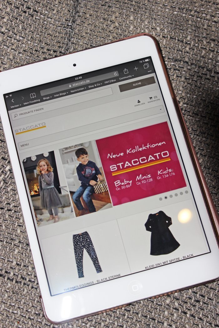 STACCATO Kindermode - Mein Kind und die Mode
