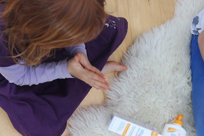 Warum sebamed die Baby & Kind Calendula Pflegeserie im Gepäck ist & Verlosung