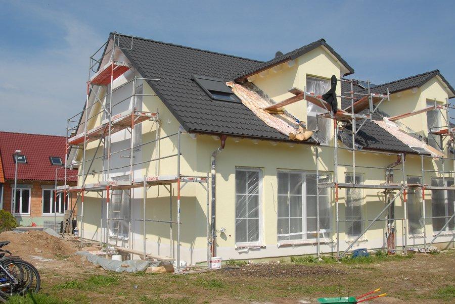 Job, Hausbau, Interhyp Baufinanzierung und Kind unterwegs