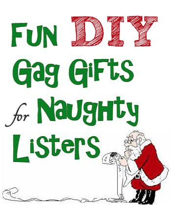 Homemade Christmas Gag Gifts Poem Homemade Gag Gift